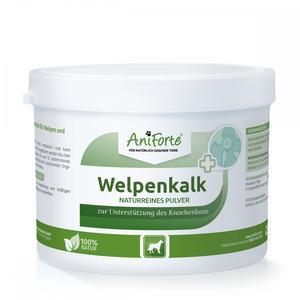 Hunde-Ergänzungsfutter - AniForte® natürlicher Welpenkalk 500g