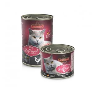 Katzen-Nassfutter - 6er PACK LEONARDO® Quality Selection Geflügel pur 400g