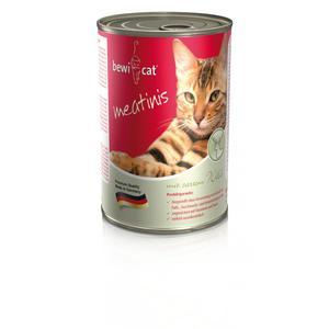 Katzen-Nassfutter - BEWI CAT® Meatinis Wild 6 x 400g - Pack