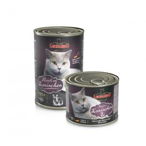 Katzen-Nassfutter - 6er PACK LEONARDO® Quality Selection Reich an Kaninchen 400g