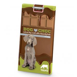 Hunde-Kauartikel - Hundeschokolade DOG CHOC Pansen 100g * *