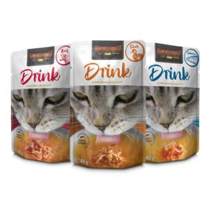 Katzen-Nassfutter - LEONARDO® Drink Mix 20 x 40g - Pack