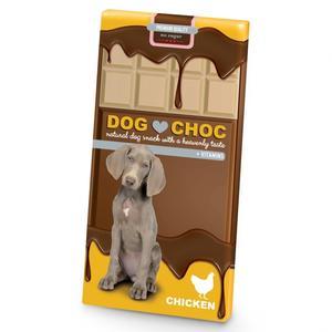 Hunde-Kauartikel - Hundeschokolade DOG CHOC Huhn 100g * *