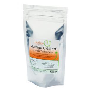 Hunde-Ergänzungsfutter - Oleifera Tiergranulat 100g