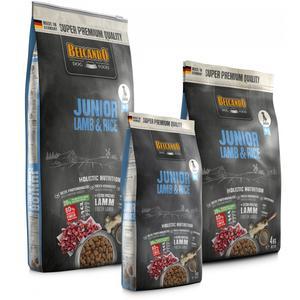 Hunde-Trockenfutter - Abverkauf - BELCANDO® Junior Lamb & Rice 1kg - MHD 11/20