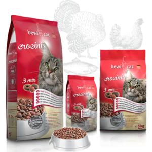 Katzen-Trockenfutter - BEWI CAT® Crocinis 1kg