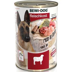 Hunde-Nassfutter - 6er PACK BEWI DOG® Fleischkost Reich an Lamm 400g