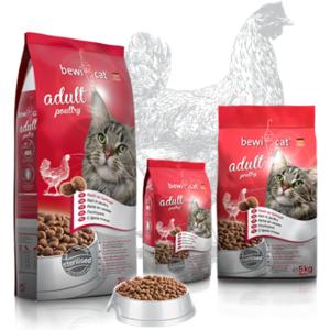 Katzen-Trockenfutter - BEWI CAT® Adult Poultry 5kg