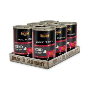 Hunde-Nassfutter - 6er PACK BELCANDO® Single Protein Rind 400g