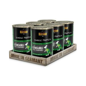 Hunde-Nassfutter - 6er PACK BELCANDO® Single Protein Känguru 400g