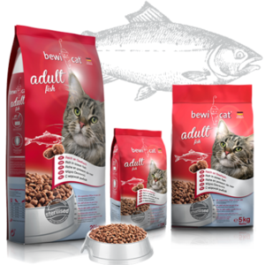 Katzen-Trockenfutter - BEWI CAT® Adult Fish 5kg