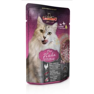 Katzen-Nassfutter - 16 & 2 Katzenfutter Huhn pur 85g im Portionsbeutel