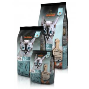 Katzen-Trockenfutter - LEONARDO® Adult Salmon GF 300g