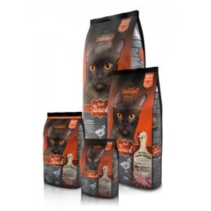 Katzen-Trockenfutter - LEONARDO® Adult Duck 2kg & 400 DAZU!