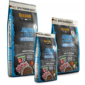 Hunde-Trockenfutter - BELCANDO® Junior GF Poultry 12,5kg & Warnweste