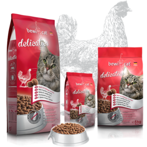 Katzen-Trockenfutter - BEWI CAT® Delicaties 5kg