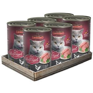 Katzen-Nassfutter - 6er PACK LEONARDO® Quality Selection Mix 400g