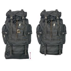 Rucksack schwarz 60l