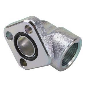"Winkelanschlussstutzen 90° 1/2"" M6x20 6,5 mm 17 mm 30 mm 27 mm 12 mm"