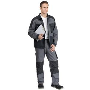 Bundjacke Professional grau/schwarz 46