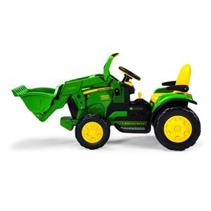 Elektro-Traktor mit Frontlader