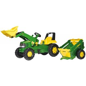 John Deere Junior inkl. Trailer
