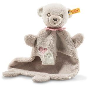 STEIFF Hello Baby Lea Teddybär Schmusetuch in Geschenkbox 28cm 241598
