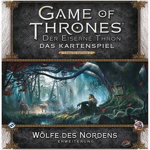 HEIDELBERGER SPIELEVERLAG Game of Thrones - Der Eiserne Thron 2. Edition - Wölfe des Nordens Erweiterung