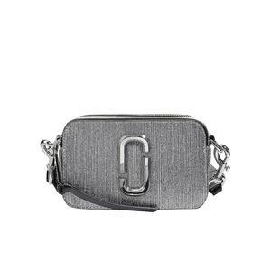 MARC JACOBS Ledertasche - Minibag Snapshot Glitter