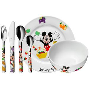 WMF Kinderbesteck-Set 6-teilig Mickey Mouse