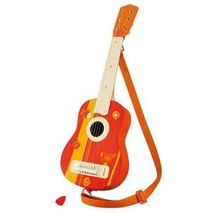 SEVI Akustische Gitarre mit Tragegurt