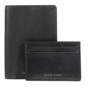 BOSS BUSINESS Geschenkbox - Reisepass- und Ausweisetui