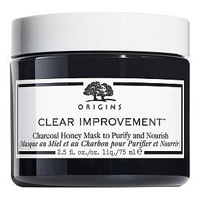 ORIGINS Clear Improvement™ Charcoal Honey Mask to Purify and Nourish 75ml