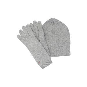 TOMMY HILFIGER Geschenkset - Haube und Handschuhe