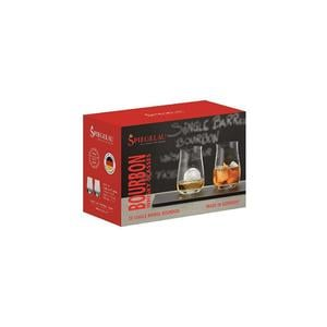 SPIEGELAU Single Barrel Bourbon Whiskey Set 2-er a´380ml