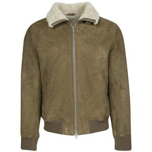 CLOSED Shearling-Lederjacke