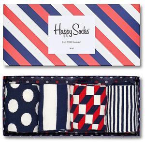 HAPPY SOCKS Socken-Geschenkbox 4-er Pkg.