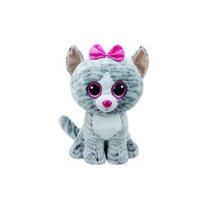 TY Plüschtier - Katze Kiki 42cm grau