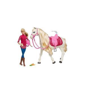 MATTEL Barbie - Traumpferd und Puppe