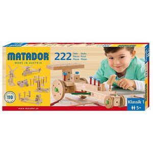 MATADOR Klassik Baukasten Nr.1 (222 Teile)