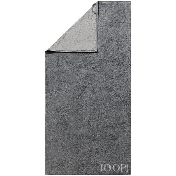 JOOP Duschtuch Doubleface 80x150cm (Anthrazit)