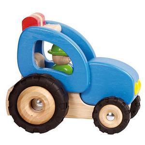 GOKI Holz-Traktor 14 cm