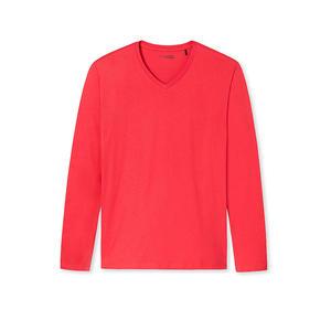SCHIESSER Pyjama Langarmshirt