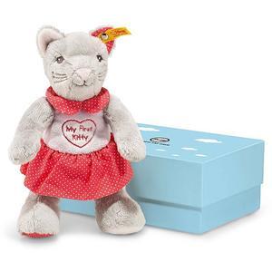 STEIFF My first Steiff Knister-Katze in Geschenkbox 23cm
