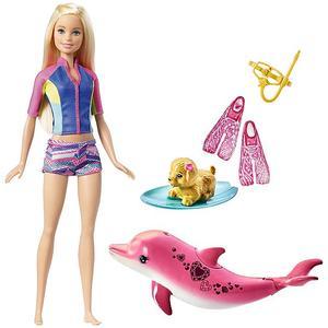 MATTEL Barbie - Magie der Delfine - Barbie und tierische Freunde