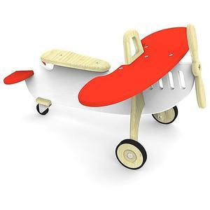ARTIGO Rutschfahrzeug Plane weiss/rot