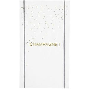 LA CERISE SUR LE GATEAU Geschirrtuch Champagne 50x80cm