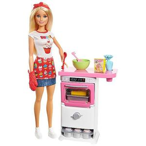MATTEL Barbie - Bäckerin Puppe und Spielset