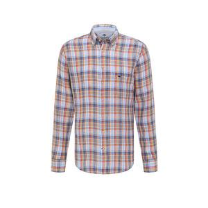 FYNCH HATTON Leinenhemd Regular Fit