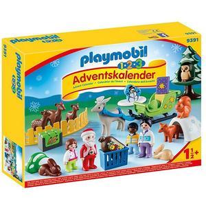 PLAYMOBIL 1,2,3 Adventskalender - Waldweihnacht der Tiere 931
